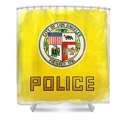 City Of Los Angeles - Police Shower Curtain