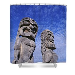 City Of Refuge Kii Shower Curtain by Greg Vaughn - Printscapes