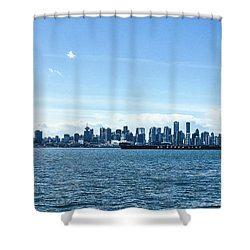 City Of Vancouver From The North Shore Shower Curtain