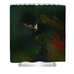 City Rain Shower Curtain