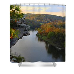 City Rock Bluff Shower Curtain