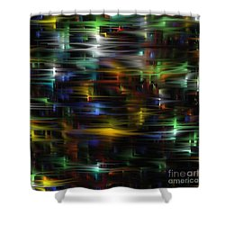 City Streets Shower Curtain by Greg Moores