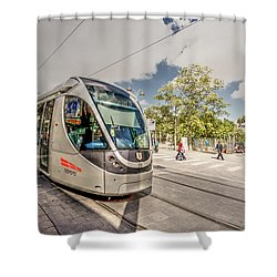 Citypass Shower Curtain