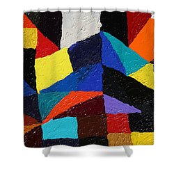 Cityscape Shower Curtain by Ralph White