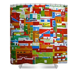 Civic Harmony Shower Curtain