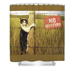 Civil Disobediance Shower Curtain
