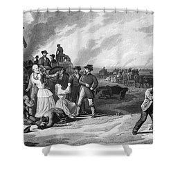 Civil War: Martial Law Shower Curtain by Granger