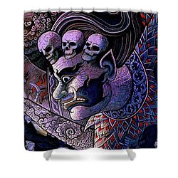 Claiming Lost Souls  Shower Curtain