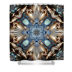 Clair De Lune Shower Curtain by Jim Pavelle