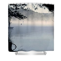 Calm Day Shower Curtain