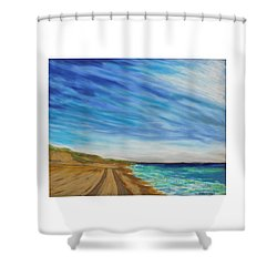 Clammin Home Shower Curtain