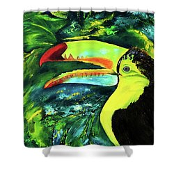 Clara's Toucan Shower Curtain