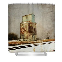 Shower Curtain featuring the photograph Clare Elevator by Julie Hamilton
