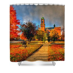 Claremont Center 234 Shower Curtain