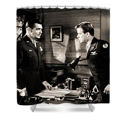 Clark Gable Appearing In Command Decision Shower Curtain