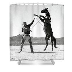 Clark Gable The Misfits Shower Curtain