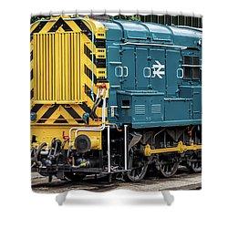 Class 08 Shunter Shower Curtain