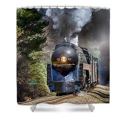 Class J 611 Steam Engine At Ridgecrest Shower Curtain