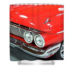 Shower Curtain featuring the photograph Classic 61 Impala Car by Tyra OBryant