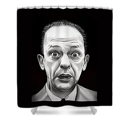 Classic Barney Fife Shower Curtain by Fred Larucci