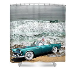 Classic Beauty At Asilomar Shower Curtain by Joyce Dickens