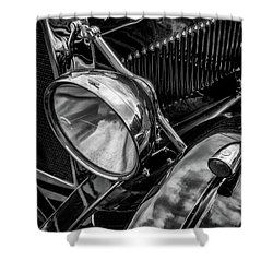 Shower Curtain featuring the photograph Classic Britsh Mg by Adrian Evans