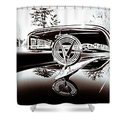 Shower Curtain featuring the photograph Classic Buick by Wade Brooks