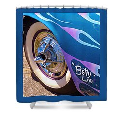 Classic Car Betty Lou Shower Curtain