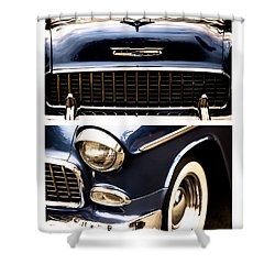Classic Duo 4 Shower Curtain by Ryan Weddle