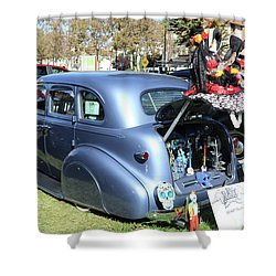 8b64c7ab884 Classic Car Decorations Day Dead Shower Curtain Classic Car Decorations Day  Dead. Chuck Kuhn