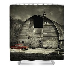 Shower Curtain featuring the photograph Classic Chevrolet  by Julie Hamilton