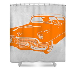 Classic Chevy Shower Curtain by Naxart Studio
