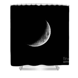 Classic Crescent Cropped Shower Curtain