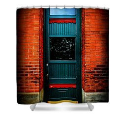 Classic Door Shower Curtain by Perry Webster