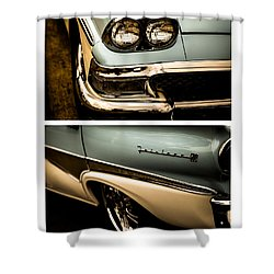 Classic Duo 1 Shower Curtain by Ryan Weddle