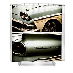 Classic Duo 2 Shower Curtain by Ryan Weddle