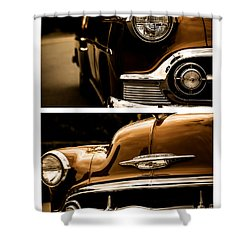 Classic Duo 3 Shower Curtain by Ryan Weddle