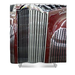 Classic Grille Shower Curtain