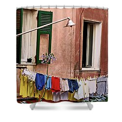 Classic Hand Washing  Shower Curtain