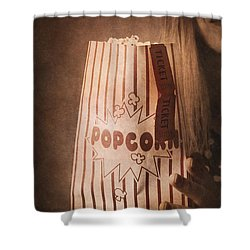 Shower Curtain featuring the photograph Classic Hollywood Flicks by Jorgo Photography - Wall Art Gallery