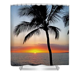 Classic Maui Sunset Shower Curtain