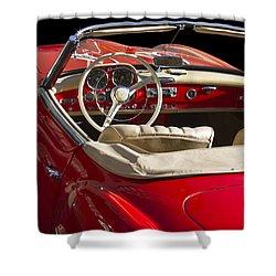 Classic Mercedes Benz 190 Sl 1960 Shower Curtain by Heiko Koehrer-Wagner