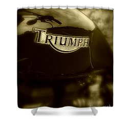 Classic Old Triumph Shower Curtain