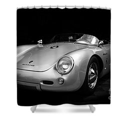 Classic Porsche Shower Curtain