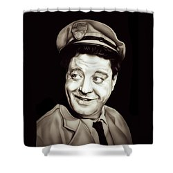 Classic Ralph Kramden Shower Curtain by Fred Larucci