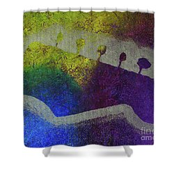 Classic Rock Shower Curtain by Melissa Goodrich