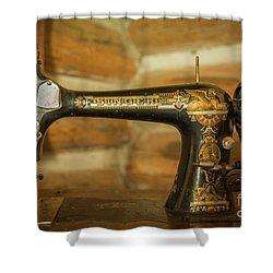 Classic Singer Human Interest Art By Kaylyn Franks Shower Curtain