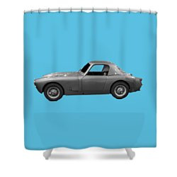 Classic Sports Silver Art Shower Curtain