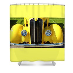 My Ride's Here Shower Curtain