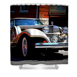 Classic Streets Shower Curtain